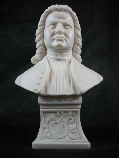 Marmorbüste J.S. Bach