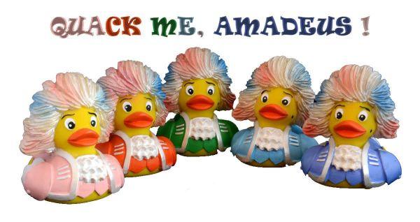 Quack me Amadeus Bade-Ente
