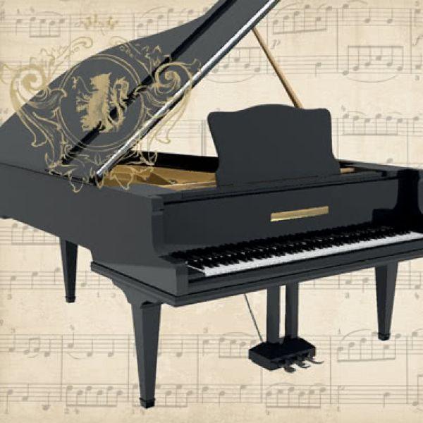 Lunchservietten Concerto Piano