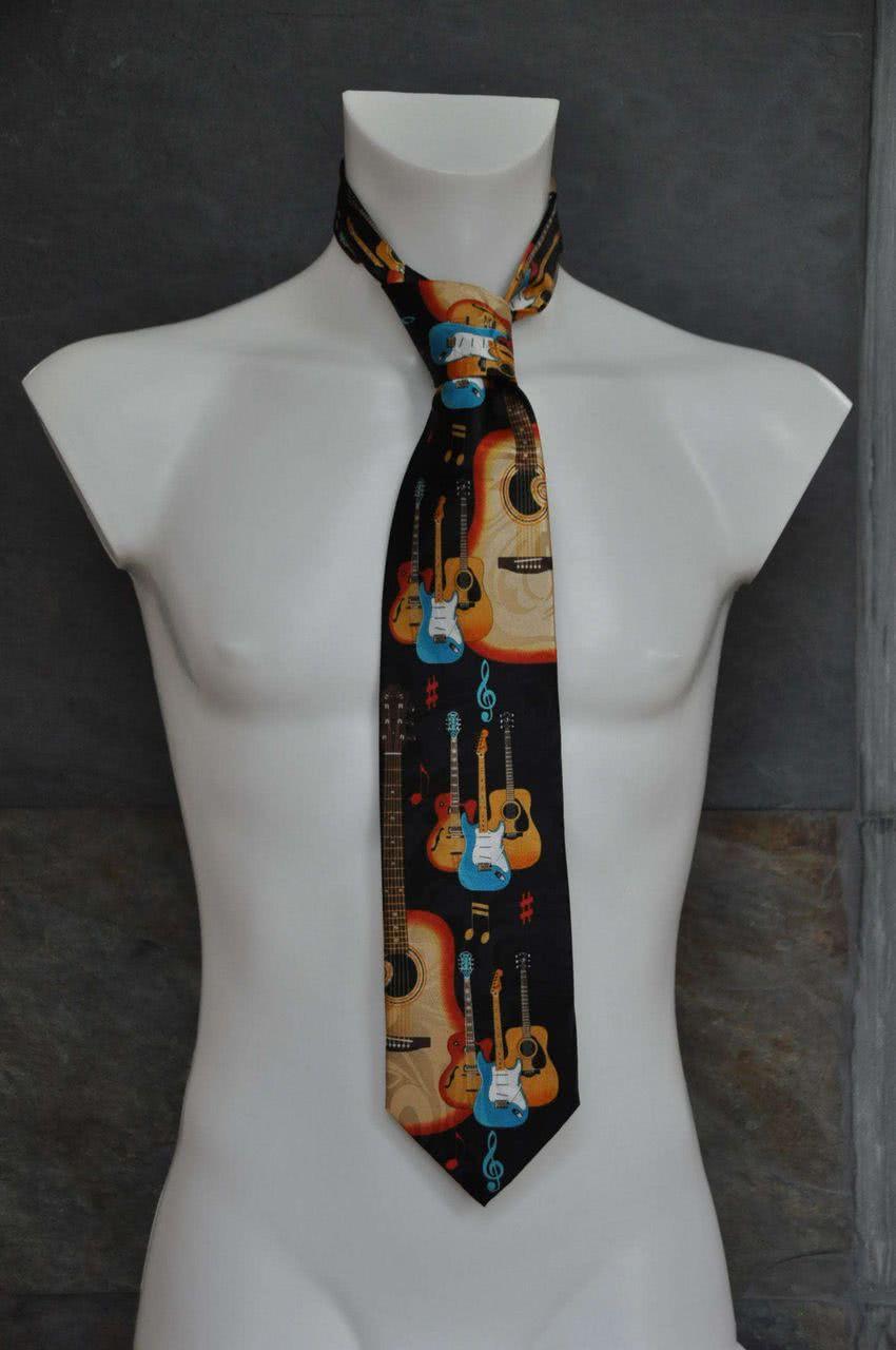 Krawatte Posaunen schwarz