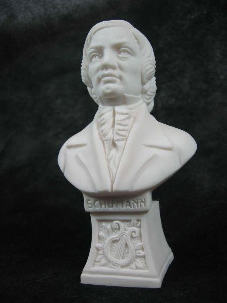 Marmorbüste Schumann