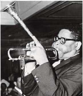 Postkarte Dizzy Gillespie - 1960