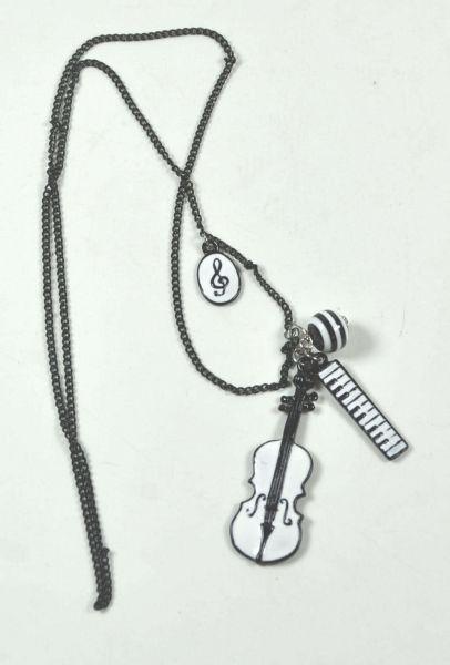 Halskette Violine