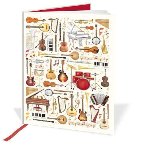 Notizbuch Musikinstrumente (A4)