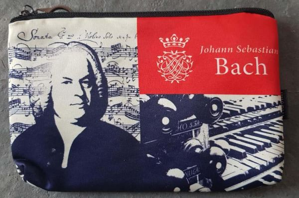 Kosmetiktasche Johann Sebastian Bach