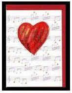 Klappkarte Hearts 2