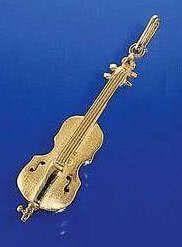Cello als Brosche
