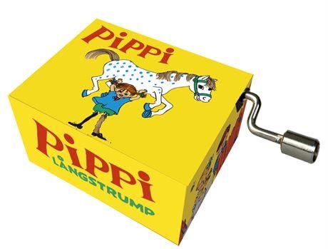 Mini-Spieluhr Pippi Langstrumpf