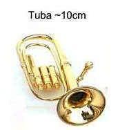 Miniatur - Tuba ~10cm