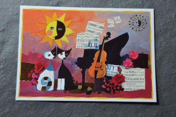Postkarte Cello Wachtmeister