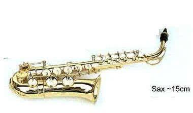 Miniatur Saxophon ~15cm