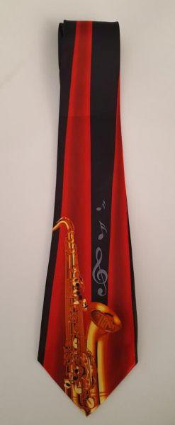 Krawatte Saxophon