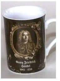 Porzellanbecher Händel