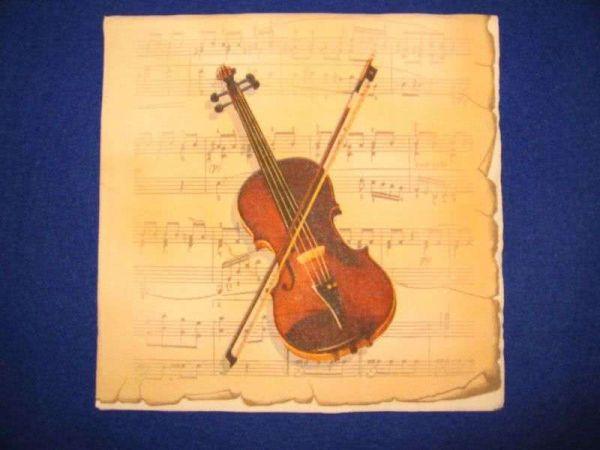 Lunch Servietten - Music Violine