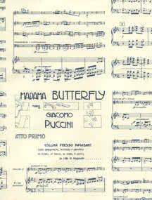 Geschenkpapier Madama Butterfly