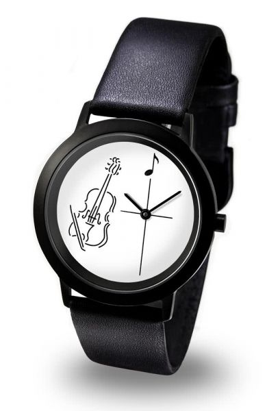 Armbanduhr Violine