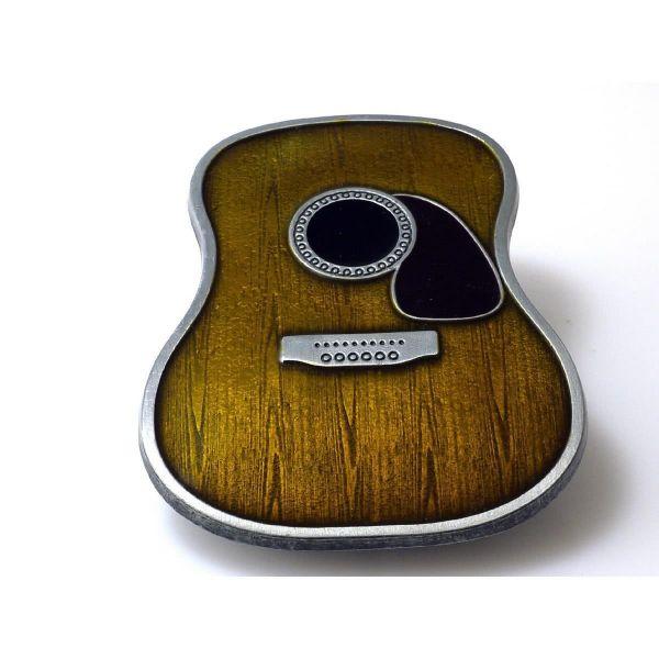 Gürtelschnalle Western Gitarre