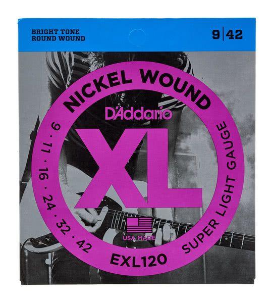 Gitarrensaiten D'Addario EXL120