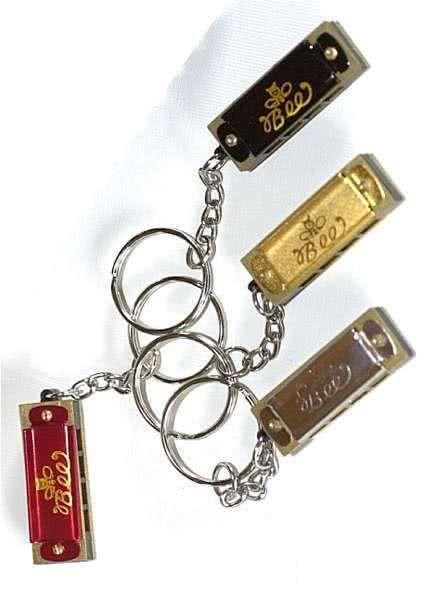 Mundharmonika am Schlüsselring