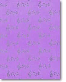 Geschenkpapier Musical Notes