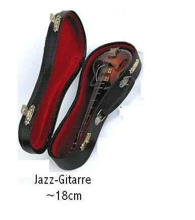 Miniatur - Jazzgitarre ~18cm
