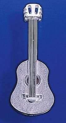 Konzertgitarre als Brosche