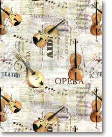 Geschenkpapier Opera