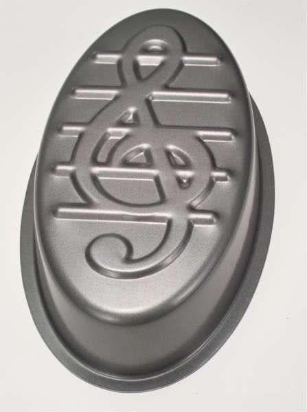 Backform ~32cm Notenschlüssel