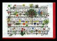 Klappkarte Haydns Schöpfung (Pflanzen)
