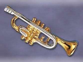 Anstecker Trompete