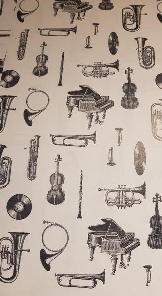 Geschenkpapier Musikworld