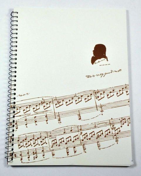 Heft (Notenpapier) Beethoven