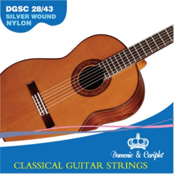 Gitarrensaiten DGSC 28/43 (Satz)