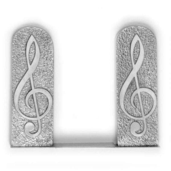 Bücherstütze Violinschlüssel