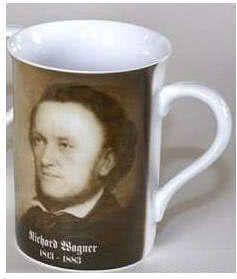 Porzellanbecher Wagner