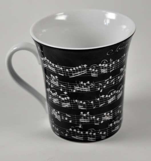 Becher Vivaldi Libretto schwarz