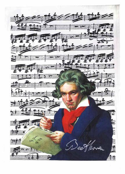 Geschirrtuch Beethoven